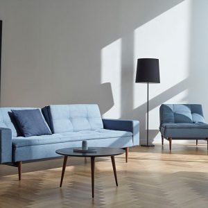Dublexo Styletto with armrests